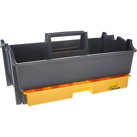 Graphite Gray and Iron Yellow Plano Molding 311-007 14 Tote